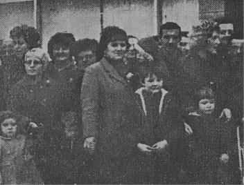 1967 High Blantyre Prefab Tenants