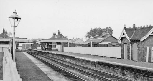 1961 Blantyre Station