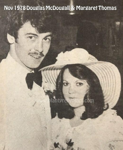 1978 Douglas McDougall & Margaret Thomson