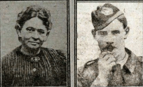 1917 Mrs Crothers and son Richard