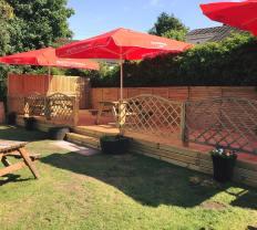 2018 Hoolets Beer Garden new decking