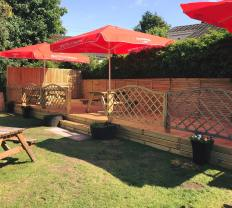2018 Hoolets Beer Garden new decking