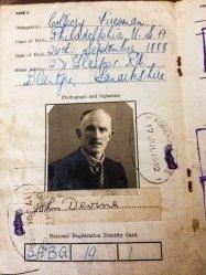 1943 John Devine of 271 Glasgow Rd