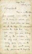 Livingston letter to son Robert 1852 1