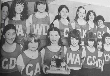 1979 Auchinraith Netball Team