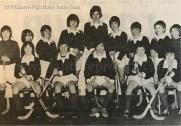 1979 Blantyre High Junior Shinty Team