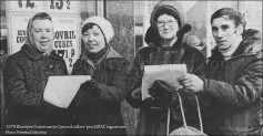 1979 Community Council collects signatures