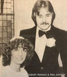 1979 Elizabeth Harkess & Alex Johnson