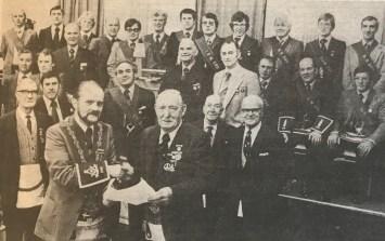 1979 Davis Straiton 50 yrs masonic