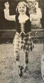 1979 Kirsty McIntosh highland dancing