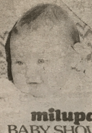 1979 Lesley Anne Young (7 months)