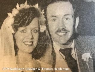 1979 Kathleen Gallacher & Thomas Henderson