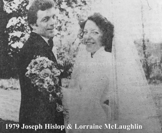1979 Lorraine McLaughlin & Joseph Hislop wm