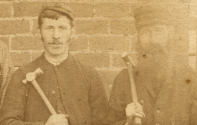1905 Miners at High Blantyre