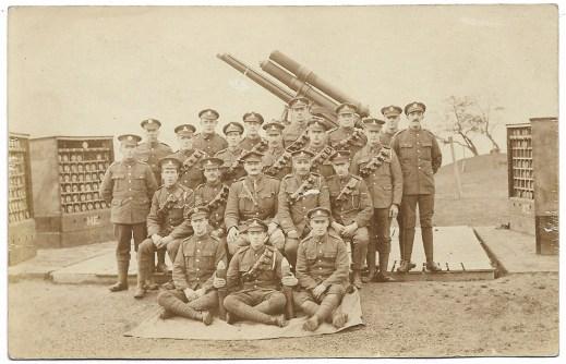 1915 Artilliary Squad