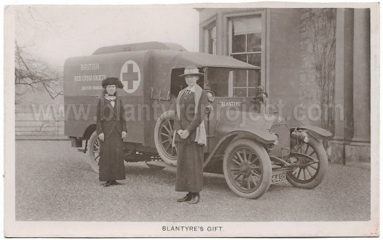 1915 Blantyre Ambulance Greenhall wm