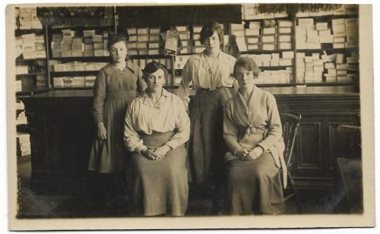1930s Blantyre Co-op Shoe Dept