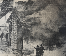 1968 Goods shed burns down