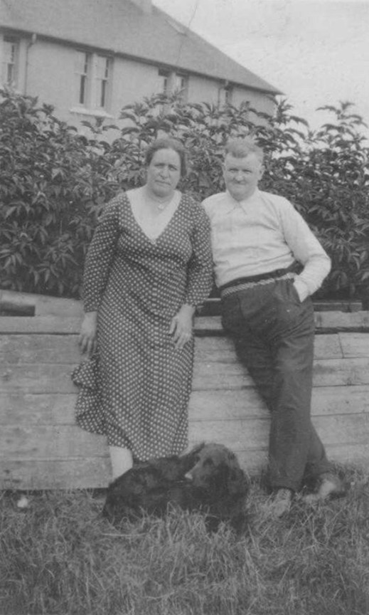 1920s James McCudden & Jeanie Smith