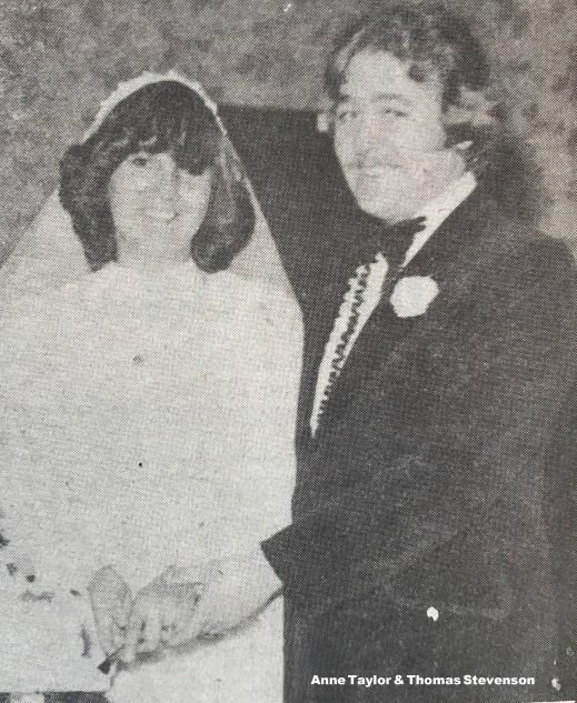 1980 Anne Taylor & Thomas Stevenson