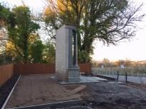 2018 Oct Auchentibber Memorial Rebuild