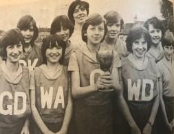 1980 David Livingstone Primary Netball team