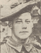 1918 James Stewart, awarded medal