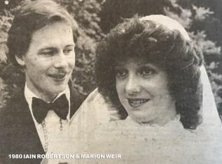 1980 Marion Weir & Iain Robertson