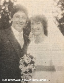 1980 Teresa Calgie & John McLuskey