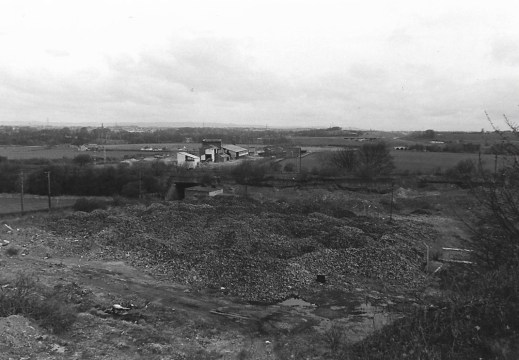 1976 Blantyreferme brickworks removal