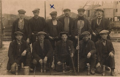 1920s Miners at High Blantyre Jock Deccs