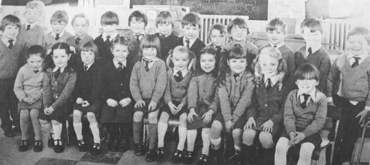 1980 St Josephs Primary 1b