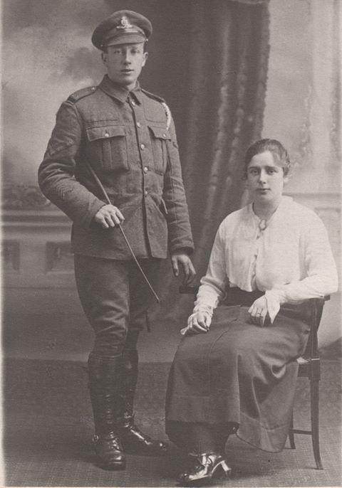1914 Pic Annie Black & David Dunsmuir