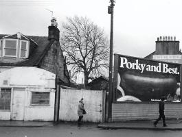 1977 Glasgow Road near Stonefield junction