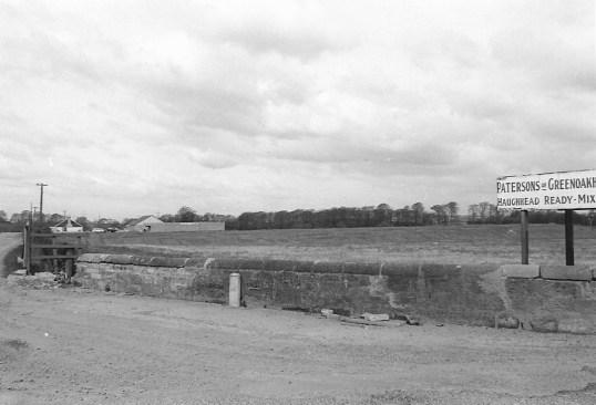 1980s Haughhead Bing during works1
