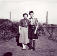 1940s Robert & Anna Bell at Craighead