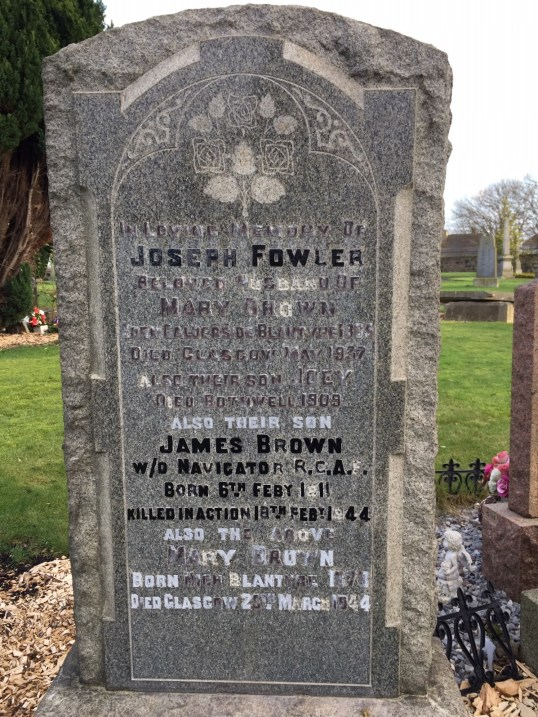 James Brown Fowler grave