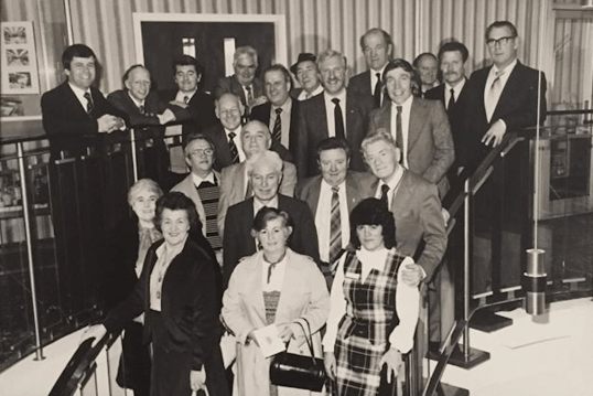 1980 Bells Visit