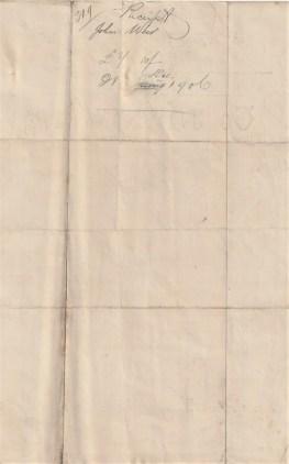 Dixon receipt John Weir 2