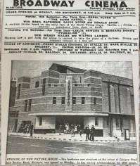 1939 Broadway Opens