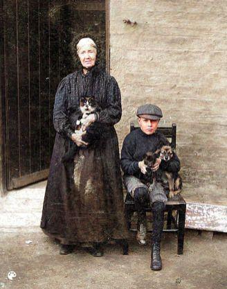 1912 Mary Thomson & Andrew Lindsay