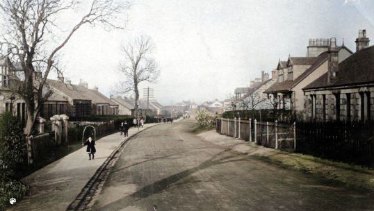 1914 Auchinraith Road full pic -Colorized