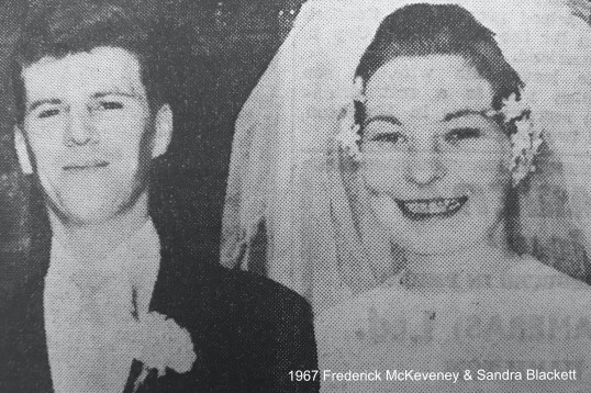 1967 Frederick McKeveney & Sandra Blackett