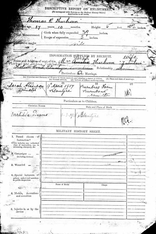 Service record 2