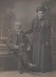 Jimmy Brownlie & Agnes Carmichael c1900