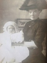1878 Christina Brown & Catherine at Boathouse