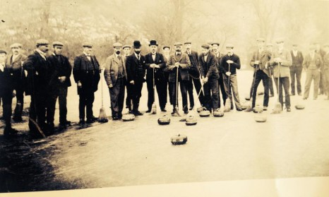 1891 Curling at Blantyre