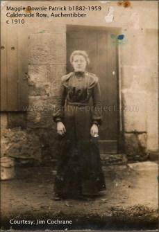 1910 or 1915 Maggie Downie Patrick (b1882)