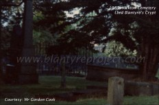 1980s Lord Blantyres Crypt