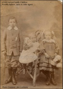 1908 Forrest Family Children